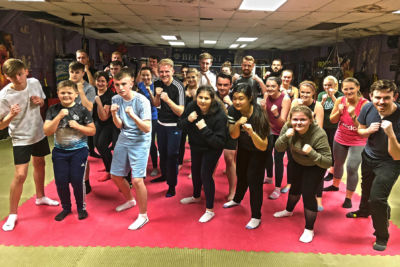 A new ProKick kickboxing beginners course kicked-off at the ProKick Gym on Tuesday 30th Oct 2018.