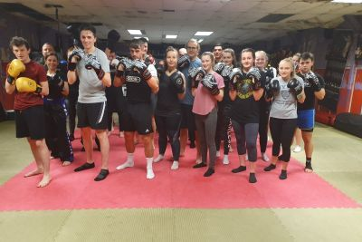 Great job to our latest ProKickers who finished their ProKick 6-weeks of #kickboxing at the #Belfast #Gym. It all happened last night Thursday 5th December