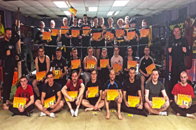 new Belters 2nd March 2019 at the ProKick Gym in Belfast. Our ProKick Kickboxing enthusiasts were tested in the hope of moving up to the next level at the ProKick Gym in Belfast.