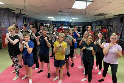 Hello & welcome to the ProKick Gym in Belfast. A New Beginner's course kicked off on Wednesday 21st July @ 6pm at the #ProKickGym