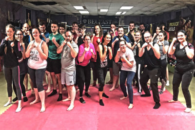 A BIG hello & welcome to all our new kickboxing beginners for making it to the ProKick Gym Belfast. Welcome to #TheOldTinHut #kickboxingGym and the new 6 week beginners course set for 2019.