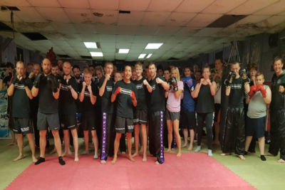 Hero was back at the Prokick gym on Monday 13th August 2018