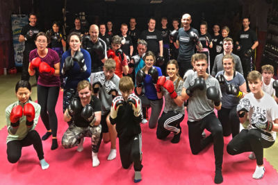 The class were put through a tough basic pad session on Thursday 7th March 2019. Find out what happens next >>>>>>>