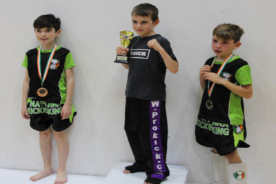Cain Toner wins tournament as the ProKick Kids hit Galway for the 2018 IKF Junior National Light Contact Championships