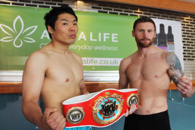 Drama at the main event weigh-in. WKN Intercontinental match made at 69.9kg with 0.5kg allowance for non-calibrated scales Johnny Smith hit the scales at 70 kg. Jihoon Lee weighed in at 72.8 kg