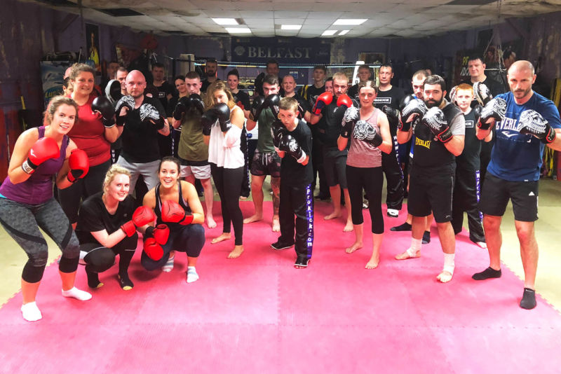 Here are the latest high-kicking ProKick beginners who all finished their 6-weeks #kickboxing at the #ProKickGym.