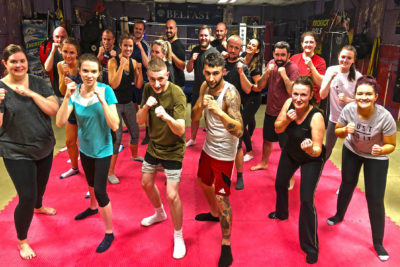 A new ProKick Kickboxing 6-week beginners course kicked-off at the #ProKickGym on Tuesday 10th September 2018