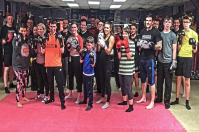 21st Dec finished a ProKick 6 Week beginners course - well done all..