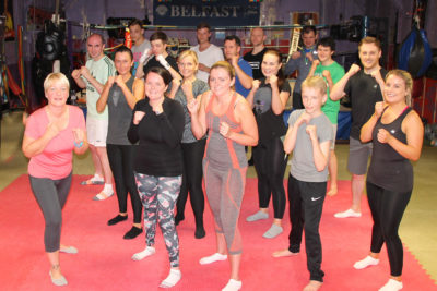 Beginners flock to ProKick - new class started June 29th 2017