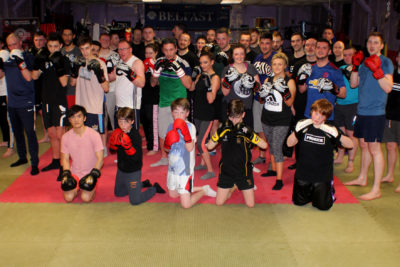 ProKick new kickboxing Beginners finish 6 weeks