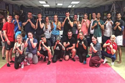 This was the 9th new ProKick Beginners Course to start this year, 15th May 2018