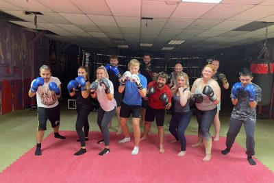 Tuesday 17th August  - The class was put through a tough basic pad session under the direction of head-coach Mr #BillyMurray