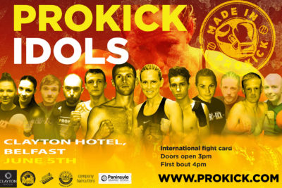 ProKick Idols are Made in Belfast