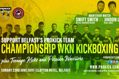 Here is our ProKickTeam - THIS was FIGHT DAY! Take a look at the great fight-card we have lined-up for the afternoon of June 23, 2019.