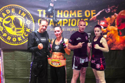 Rowena Bolt (NI) versus Diane Schembri from Malta for a WKN Title