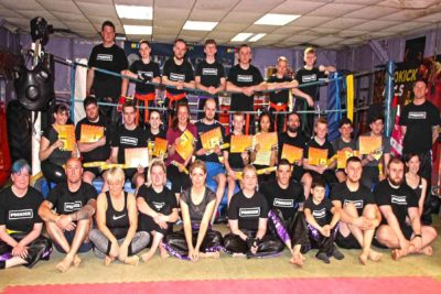 TODAY May 13th 2018 and Kickboxing enthusiasts were tested in the hope of moving to the next level at the ProKick Gym in Belfast.
