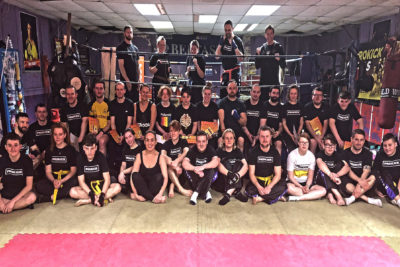 'Le Grande Grading' today Sunday 22rd December 2018. It was Exam time at the ProKick school of Kickboxing excellence.
