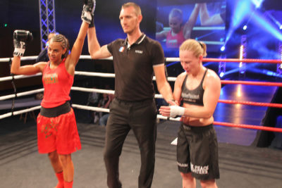 Amel Dehby take the judges nod over Cathy McAleer in France