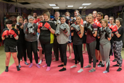 Finished ProKick kickboxing 6Weeks beginners course on the 17th May 2018