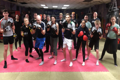 Well done you all finished 6 weeks of ProKick kickboxing on March 29th 2018