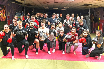 Pictured here, our latest ProKick beginners who all finished their 6-weeks of #kickboxing at the #ProKickGym last night on the 4th Dec 2018.
