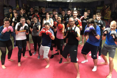 A BIG well done to all who finished our 6th week class at this ProKick beginners course on the 7th Feb 2019