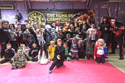 Halloween 2018 ProKickGym - A big thanks to all the ProKick Kids, Parents and Guardians who help turn out for the ProKick Kids Halloween Fun Day. Have a happy and safe Halloween