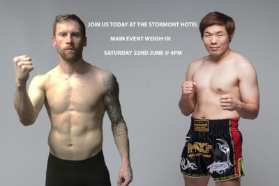 Join us today Saturday 22nd June at 4pm for the Main Event weigh-in #SmithVsLee at the Stormont Hotel. Then tomorrow @ #ClaytonHotelBelfast on Sunday the 23rd June 2019.