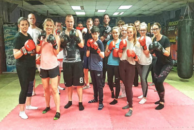 We finished ProKick kickboxing 6-Weeks beginners course on the 4th June 2018
