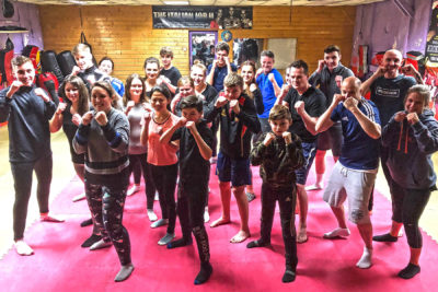 All the newcomers (pictured) had their first taste of ProKick's no-nonsense approach to fitness, ProKick kickboxing style - and it all kicked-off Thursday 31st JAN ​at 8:15pm.