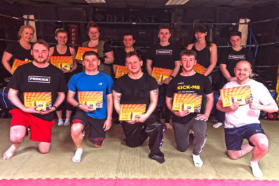 TODAY Sunday 9th June 2019 at the #ProKickGym beginners kicked off at 11 am as the team were put through a series of moves in-line with the set ProKick first level syllabus