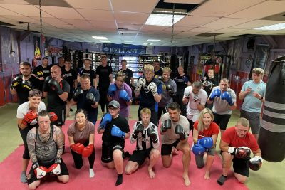 Well done new ProKickers - Another tough night at the #ProKickGym as beginners finished their ProKick 6-weeks of #kickboxing at the #Belfast #Gym. It all happened on Monday 28th June @ 2021