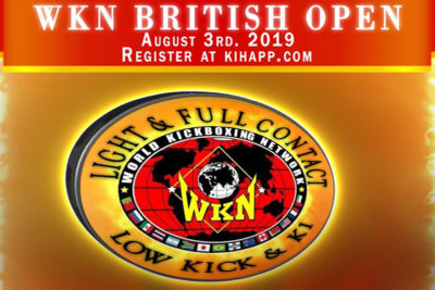 The inaugural WKN British amateur Open will take place THIS MORNING on the 3rd August 2019. The event is promoted by Mr Albert Ross & team at the Fraserburgh Fitness Centre