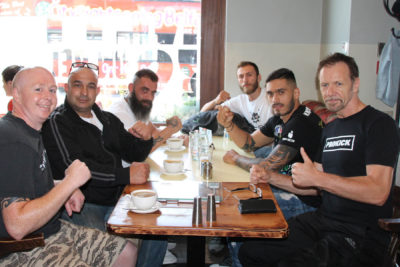 WKN Cyprus Team Arrive in Belfast Friday 29th June 2018