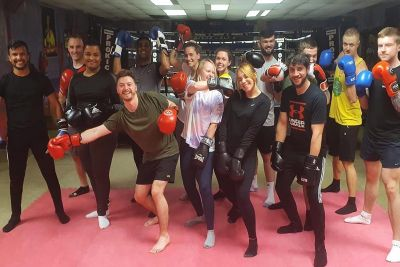 Finished 6 Week At ProKick - It all happened last night Monday 25th October at 8pm. The class were put through their paces, recapping what was learnt over the last 5 weeks, finishing with a basic glove session,