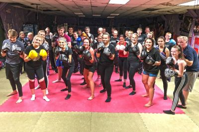Pictured here are the ProKickers who all finished their ProKick 6-weeks of #kickboxing at the #ProKickGym in Belfast on Tuesday 8h October 2019.