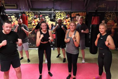 ProKick are helping Kick our way back to the old normal - This was the third new squad of wannabe kickboxers to come through the doors at the ProKick from when Covid-19 hit and closed down NI. This new ProKick 6-week course started on the 11th August 2020