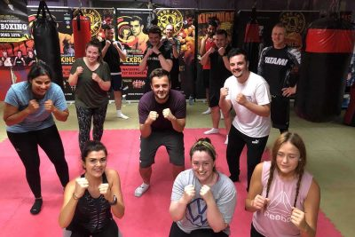 We at ProKick are helping Kick our way back to the old normal - This was the forth new squad of wannabe kickboxers to come through the doors at the ProKick from when Covid-19 hit and closed down NI.