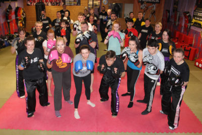 Finished 6 weeks kickboxing