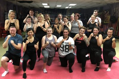 This was the new 6-week beginner' course kicked off at 8:15 pm on August 22nd, 2019. This was the thirteenth new 6-week course to start at the #ProKickGym this year.