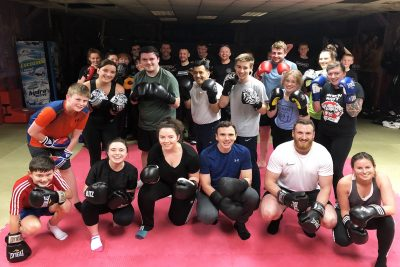 Great job to our latest ProKickers who finished their ProKick 6-weeks of #kickboxing at the #Belfast #Gym. It all happened last night Tuesday 19th November 2019.