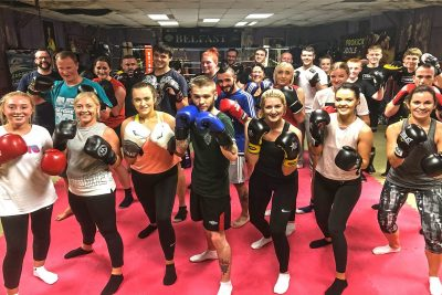 September can be gloomy prospect, BUT not for these ProKickers as they all finished our ProKick 6-weeks of #kickboxing at the #ProKickGym in Belfast. It all happened last night Monday 2nd September 2019.