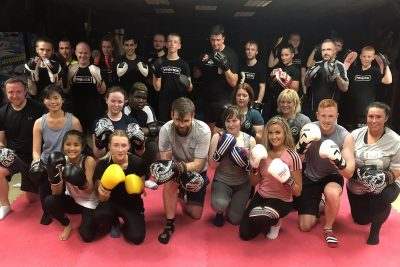 Pictured here are the ProKickers who all finished their ProKick 6-weeks of #kickboxing at the #ProKickGym in Belfast on Thursday 26th Sept 2019.