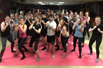 New Beginners 23 Sept 2019 - This was the fifteenth new 6-week course to start at the #ProKickGym this year.