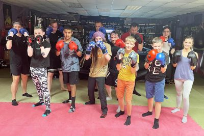 Well done to all who finished our 6-weeks of #kickboxing for beginners at the #ProKickGym in Belfast. It all happened last night Wednesday 25th August at 6pm.
