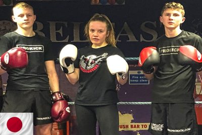 Sunday 8th Dec is Fight Day for these three kickboxers from ProKick in Northern Ireland.