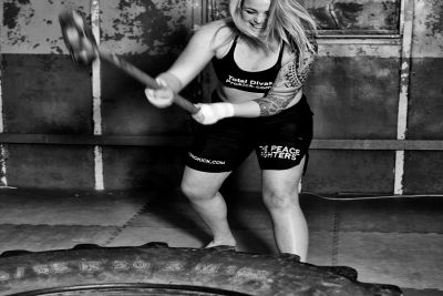 Circuit training with a Hammer & Tyre