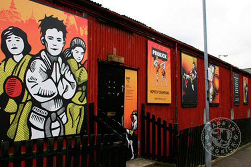 The Prokick Gym in Belfast