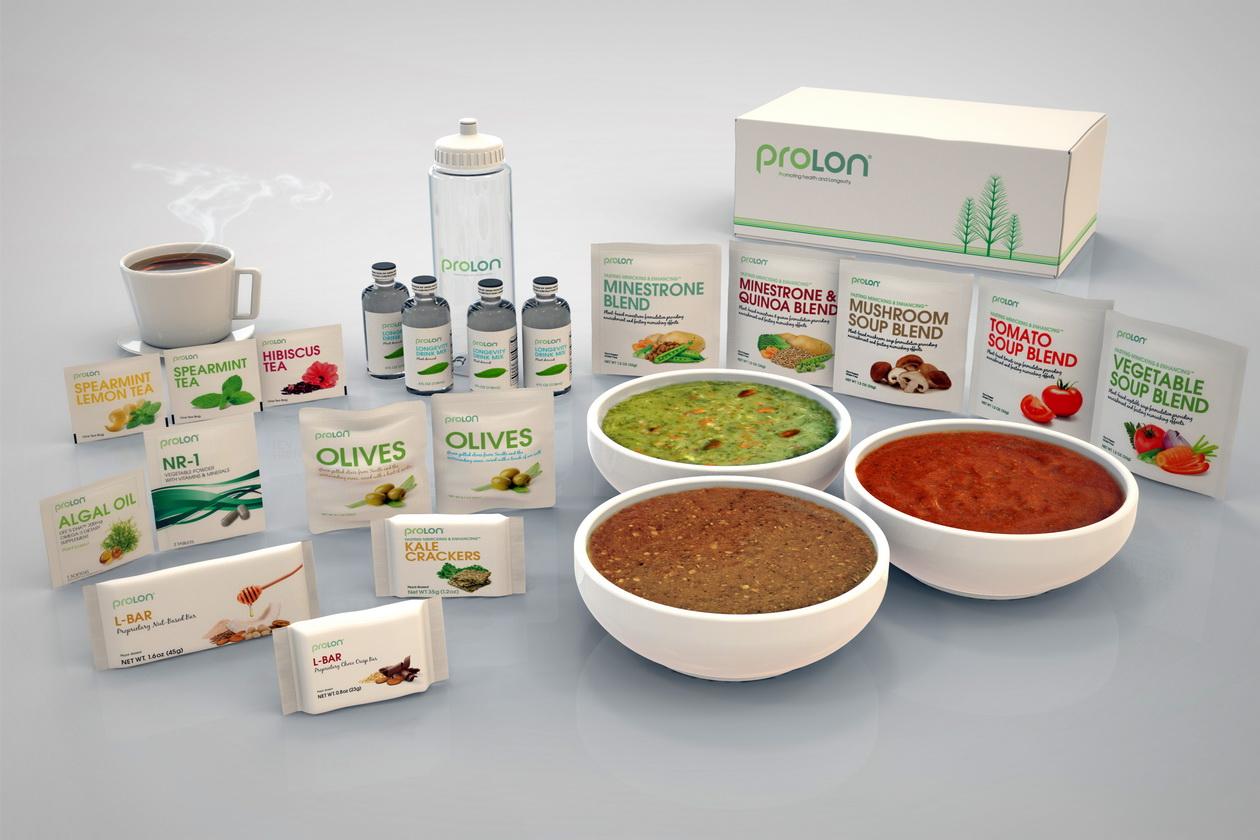 Prolon Food Collage