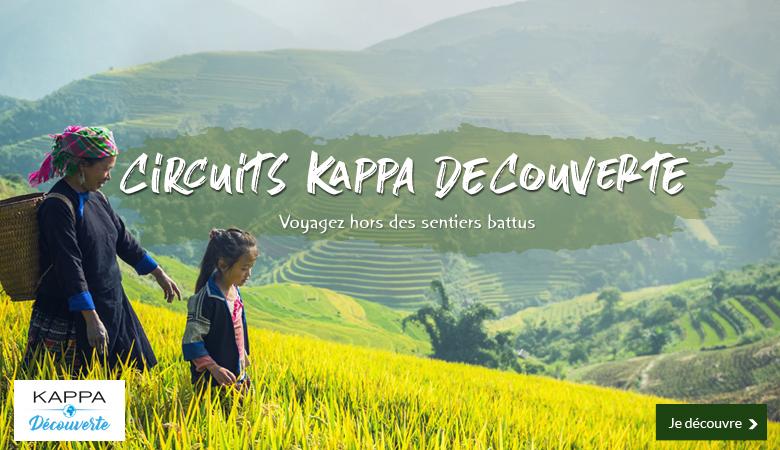 Circuits Kappa Découverte, voyagez hors des sentiers battus